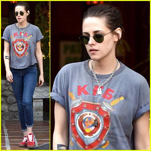 Kristen Stewart Is Back in Los Angeles After Her Paris Trip