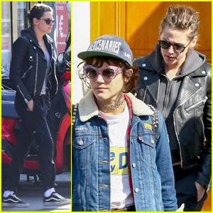 Kristen Stewart Stops by the Dentist With Rumored Girlfriend Soko