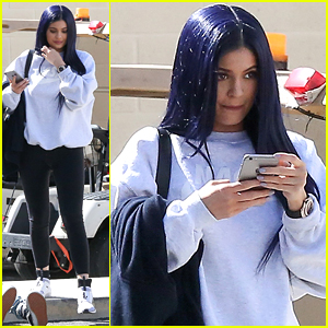 Kylie Jenner Debuts Midnight Blue Hair After Saying Her Hair Is Partially 'Destroyed'