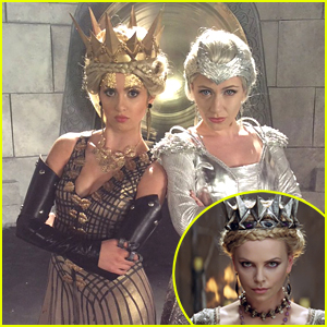 Laura Marano Becomes Charlize Theron's Ravenna For Upcoming Princess Rap Battle
