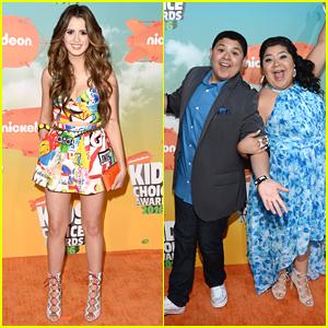 Laura Marano & Raini Rodriguez Reunite at Kids Choice Awards 2016