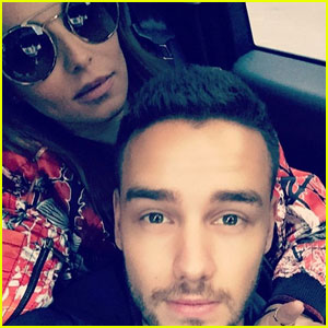 Liam Payne Spends Easter With Girlfriend Cheryl Fernandez-Versini!