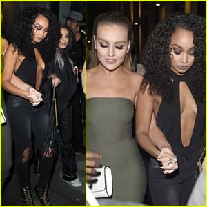 Little Mix Party It Up After Manchester Concert