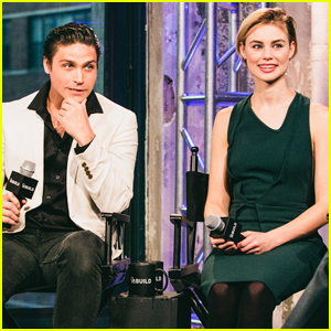 Lucy Fry & Logan Huffman Promote 'The Preppie Connection' in the Big Apple