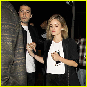 Lucy Hale & Anthony Kalabretta Have Date Night Out at Leon Bridges Concert