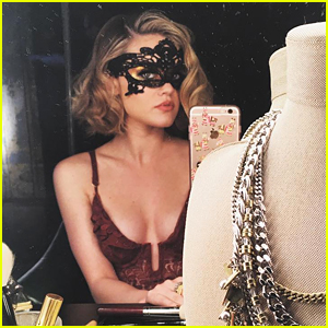 Lucy Hale Channels Chicago's Roxie Hart In Glam New Shoot