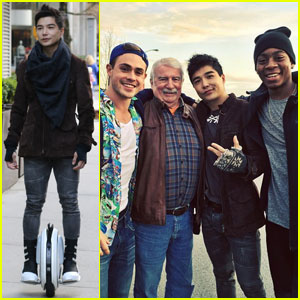 Ludi Lin Hangs With His 'Power Rangers' Co-Stars in Canada!