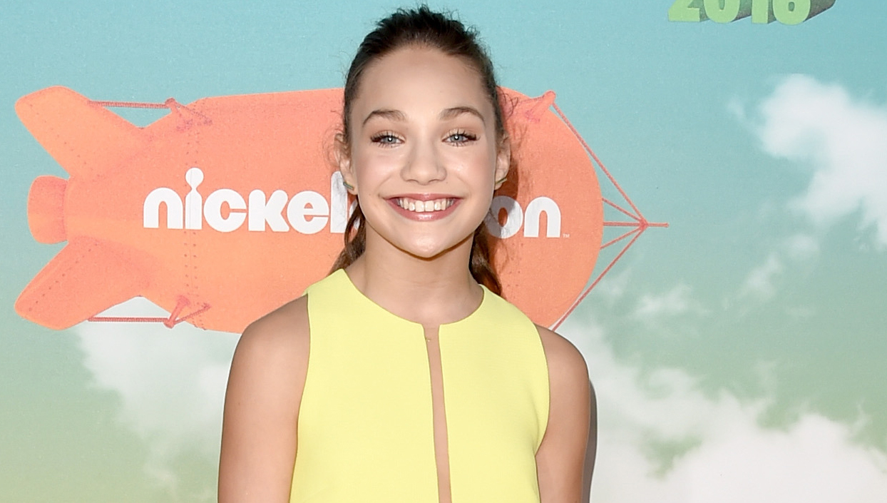 Maddie Ziegler The 15 Year Dance Sensation About To: Maddie Ziegler Dishes On Her 'So You Think You Can Dance