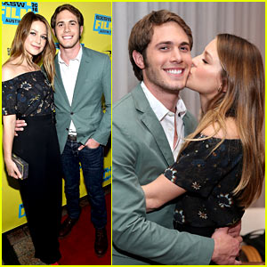 Melissa Benoist Kisses Blake Jenner at His SXSW Movie Premiere