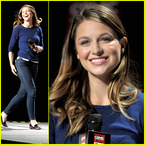 Melissa Benoist Would Love To See Kara in the 'Flash' & 'Arrow' World