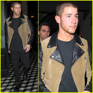 Nick Jonas Grabs Dinner After Announcing Kelsea Ballerini Duet