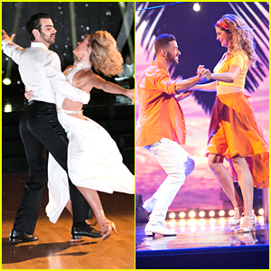 Nyle DiMarco & Mischa Barton Stun With Their Latin Night Performances on DWTS - See Pics!