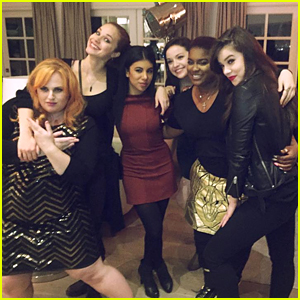 Hailee Steinfeld & Chrissie Fit Reunite With 'Pitch Perfect 2' Cast for Rebel Wilson's Birthday