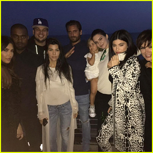 Kendall & Kylie Jenner Celebrate Rob Kardashian's Birthday With Family