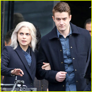 Rose McIver & Robert Buckley Head to Court in New 'iZombie' Set Pics!