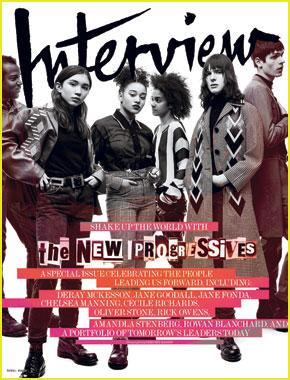 Rowan Blanchard & Amandla Stenberg Slay & Inspire on New 'Interview' Magazine Cover!