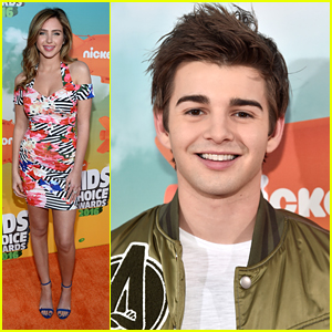 Ryan Newman & Jack Griffo Couple Up For Kids Choice Awards 2016