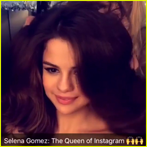 Selena Gomez Responds to Becoming Instagram's New Queen