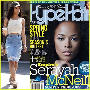 Serayah Makes Coffee Run After 'Hype Hair' Cover Debuts