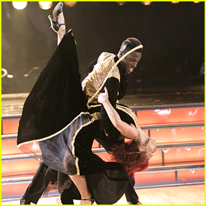 Sharna Burgess & Antonio Brown Quickstep on 'Dancing With The Stars' Premiere - Watch Here!