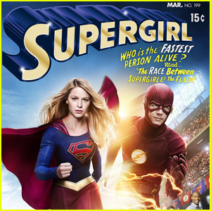 'The Flash' Teams Up With 'Supergirl' in New Crossover Episode Poster