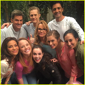 Katie Leclerc & Vanessa Marano Share New 'Family' Photos From 'Switched At Birth' Set