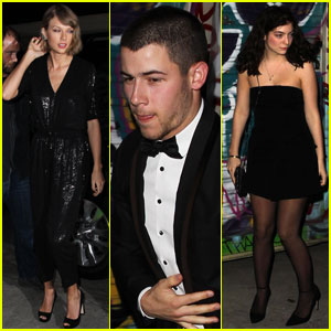Taylor Swift Celebrates Lady Gaga's Birthday With Nick Jonas & Lorde!