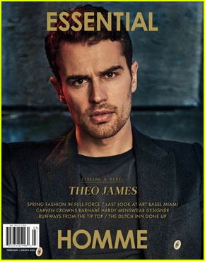 Theo James Feels Like a Different Person From When He Started 'Divergent'