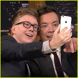 Tyler Oakley Face Swaps With Jimmy Fallon on 'Tonight Show'