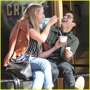 Veronica Dunne Gets Ice Cream with Boyfriend Max Ehrich After His Daytime Emmy Nomination