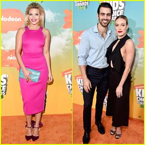 Witney Carson & Peta Murgatroyd Dance Over to Kids Choice Awards 2016