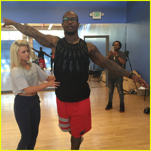 Witney Carson Praises Von Miller's Work Ethic - Read Her Week Two 'DWTS' Blog!