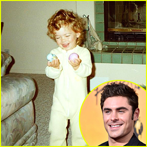 Zac Efron Posts Cute Easter Egg Throwback Pic