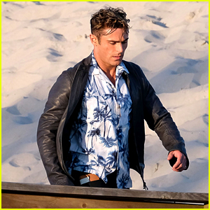 Zac Efron Changes Up Look While Filming 'Baywatch'