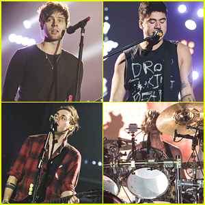5 Seconds of Summer Play Sheffield On 'Sounds Live Feels Live' Tour (Pics)
