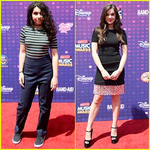 Alessia Cara & Hailee Steinfeld Hit Up Radio Disney Music Awards 2016
