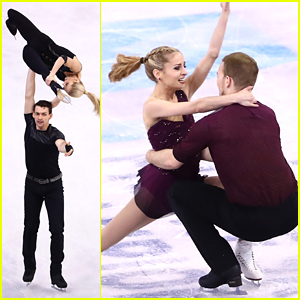 Team USA Pairs Teams Alexa Scimeca & Chris Knierim, Tarah Kayne & Daniel O'Shea Shine During Short Program at Worlds 2016