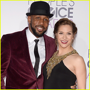 Allison Holker & Stephen 'tWitch' Boss Reveal First Photos of Baby Son Maddox