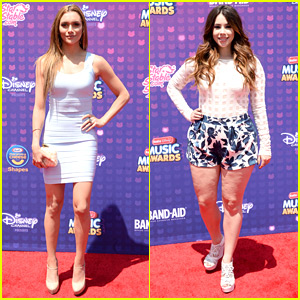 Alyson Stoner & Jillian Rose Reed Step Out For Radio Disney Music Awards 2016