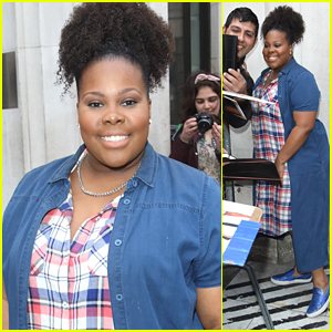 Amber Riley Recalls Her 'Dreamgirls' Audition For Effie