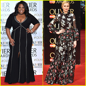 Amber Riley & Laura Carmichael Wow At The Olivier Awards 2016