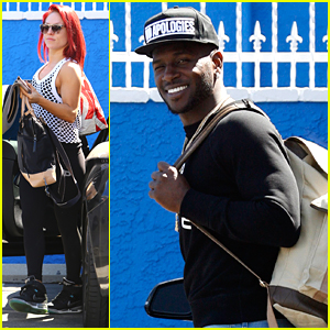 Sharna Burgess & Antonio Brown Share Sneak Peek at Foxtrot For DWTS