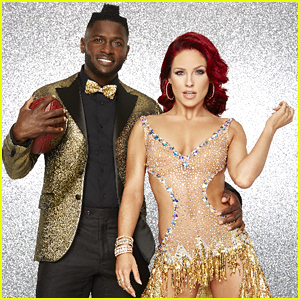 Antonio Brown & Sharna Burgess Debut Modern 'Aladdin' Jazz For 'DWTS' Disney Week