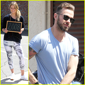 Artem Chigvintsev Walks Mischa Barton's Dog After 'DWTS' Practice