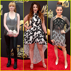Ashley Rickards Joins 'Awkward' & 'Faking It' Casts at MTV Movie Awards 2016