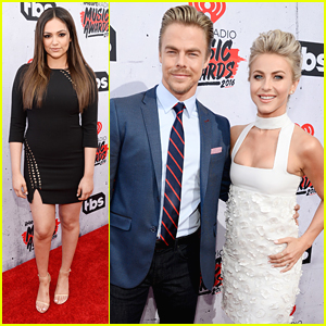Bethany Mota & Derek Hough Reunite at iHeartRadio Music Awards 2016