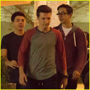 Bradley Steven Perry & Jake Short Hang Out With 'Mighty Med' Guys at the Mall