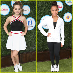 Brec Bassinger & Asia Monet Ray Attend Safe Kids Day 2016
