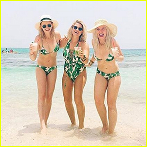 Candice King Posts Beachy Vacation Pics in Bikini