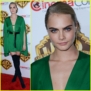 Cara Delevingne Joins 'Suicide Squad' Cast for CinemaCon Presentation